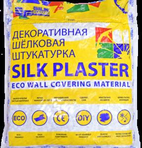 Декоративная шелковая штукатурка «SILK PLASTER»